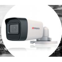 5 Мп камера HiWatch DS-T520(C) c мощной EXIR-подсветкой до 40 м